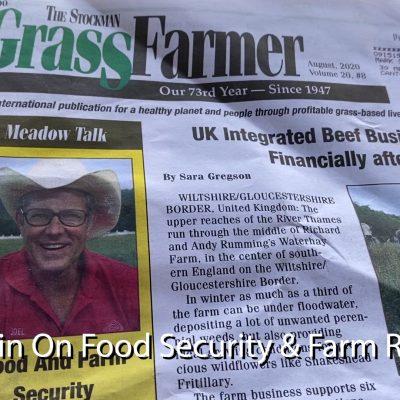 """Food & Farm Security"" Article by Joel Salatin"